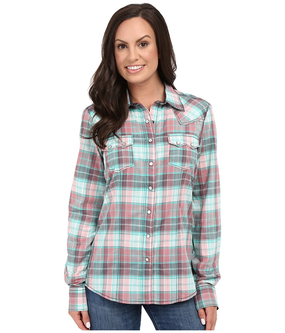 Cruel Arena Long Sleeve Yarn Dyed Plaid Assorted Womens Clothing