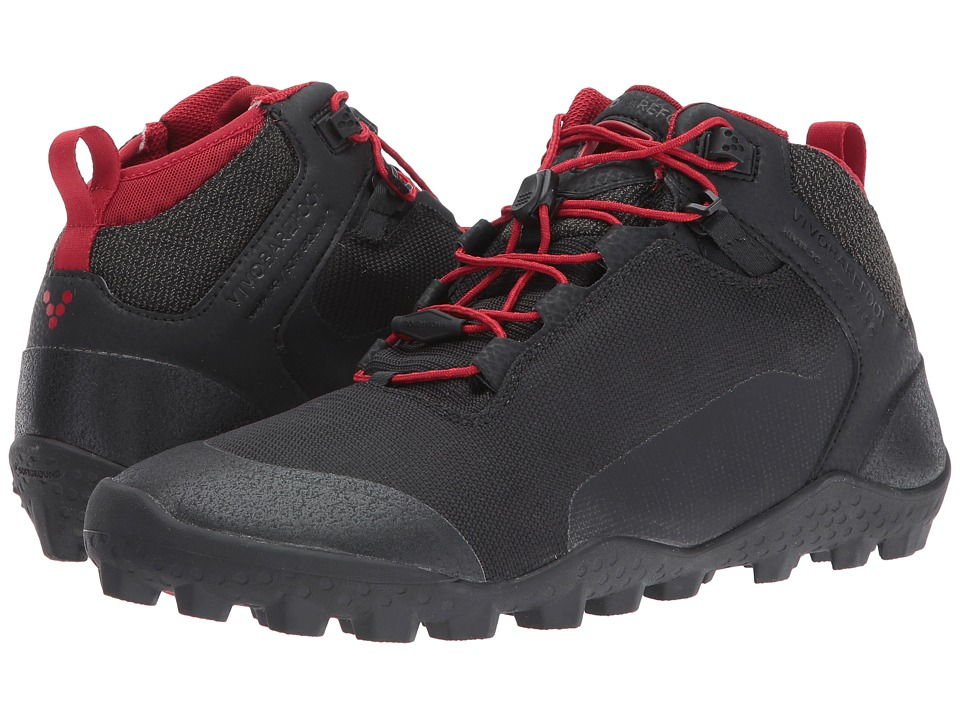 Vivobarefoot - Hiker Soft Ground (Black) Mens Shoes