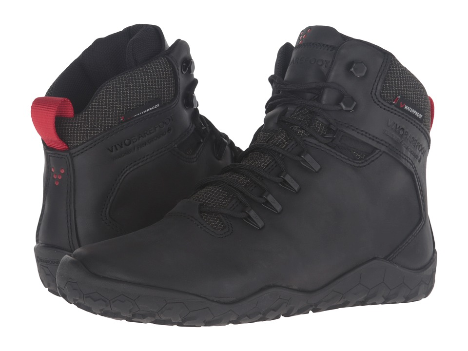 VivoBarefoot Tracker Firm Ground (Black) Women's Hiking B...