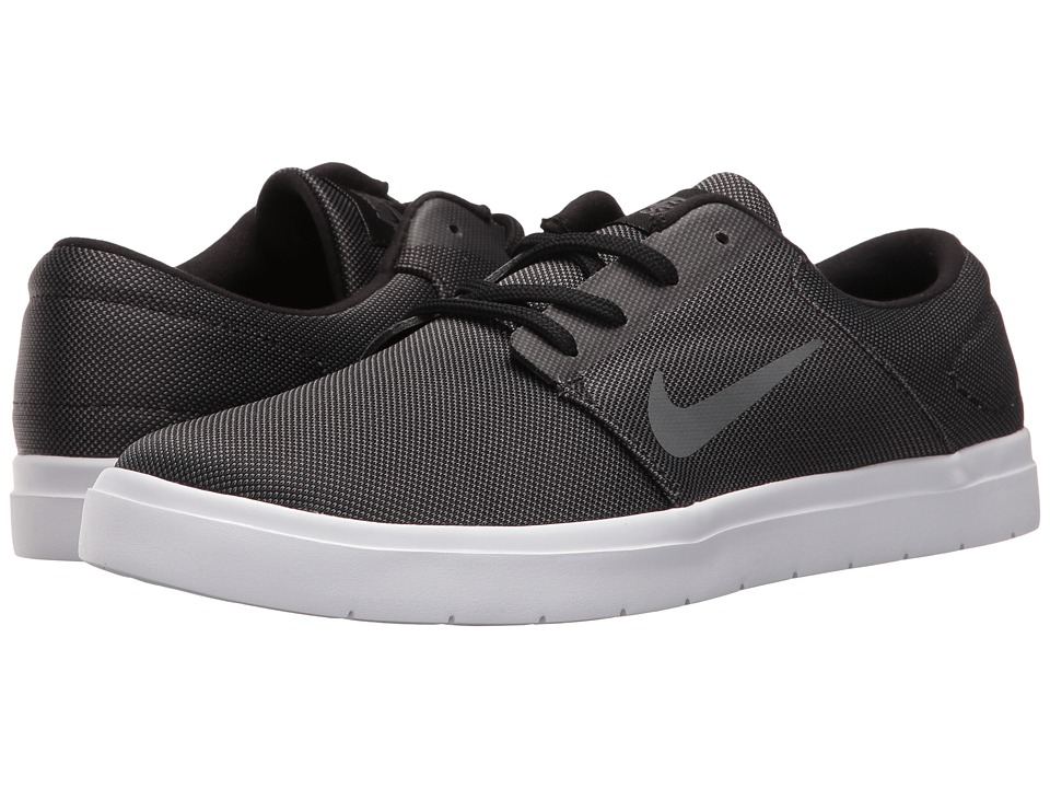 Nike SB Portmore Ultralight Canvas (Black/Dark Grey) Men