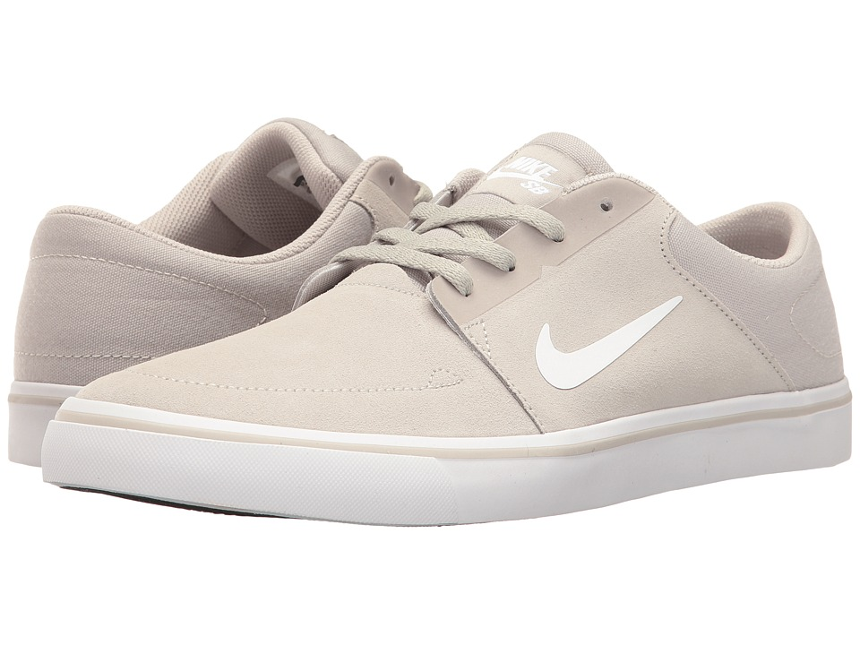 Nike SB Portmore (Pale Grey/White) Men
