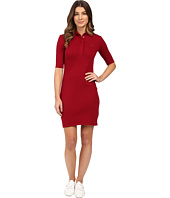 Lacoste - Half Sleeve Stretch Pique Polo Dress