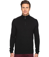 Ben Sherman - Long Sleeve Lambswool Half Zip Knit