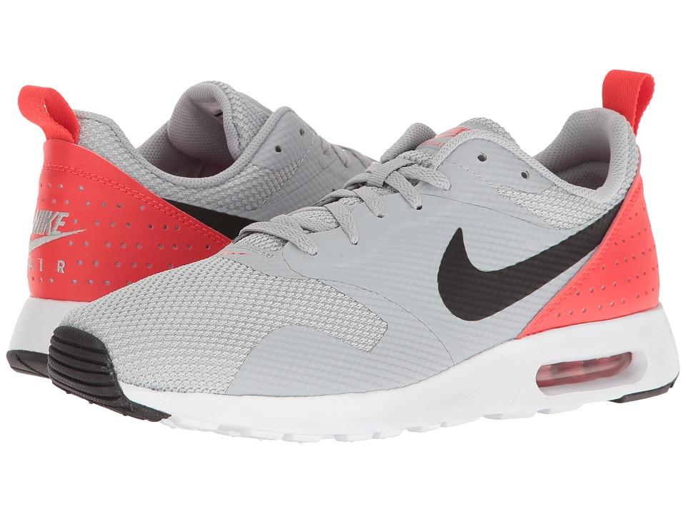 Nike - Air Max Tavas (Wolf Grey/Max Orange/Black) Mens Shoes
