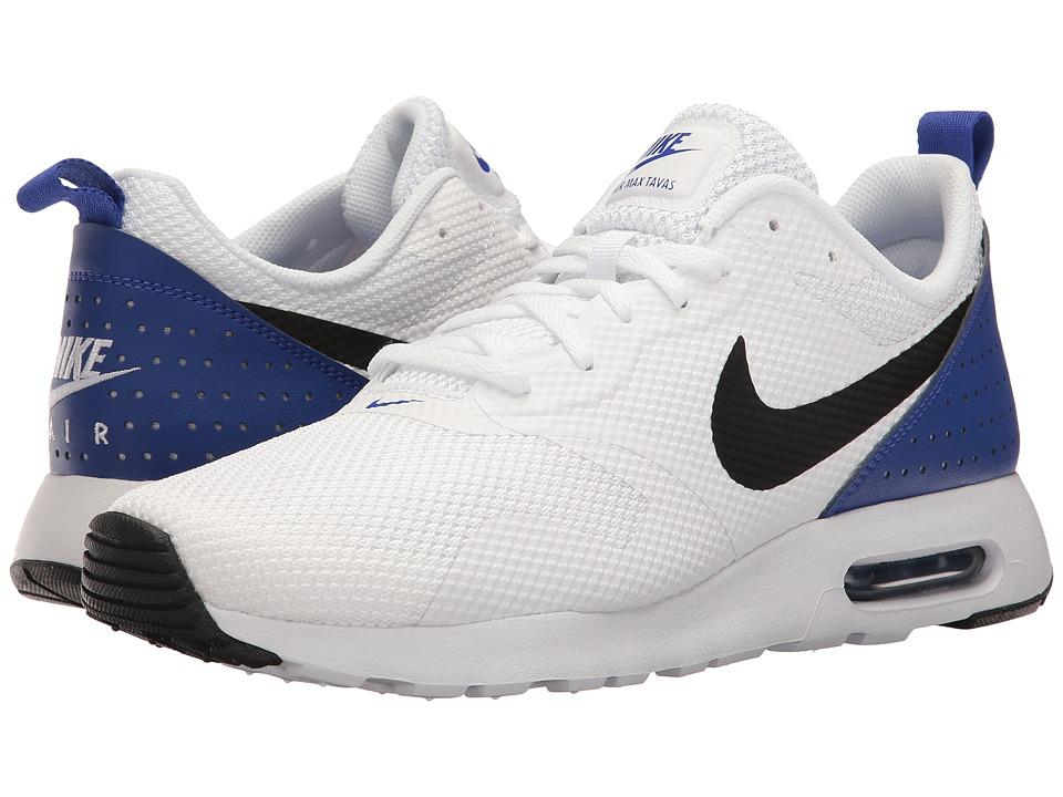 Nike Air Max Tavas (White/Paramount Blue/Black) Men