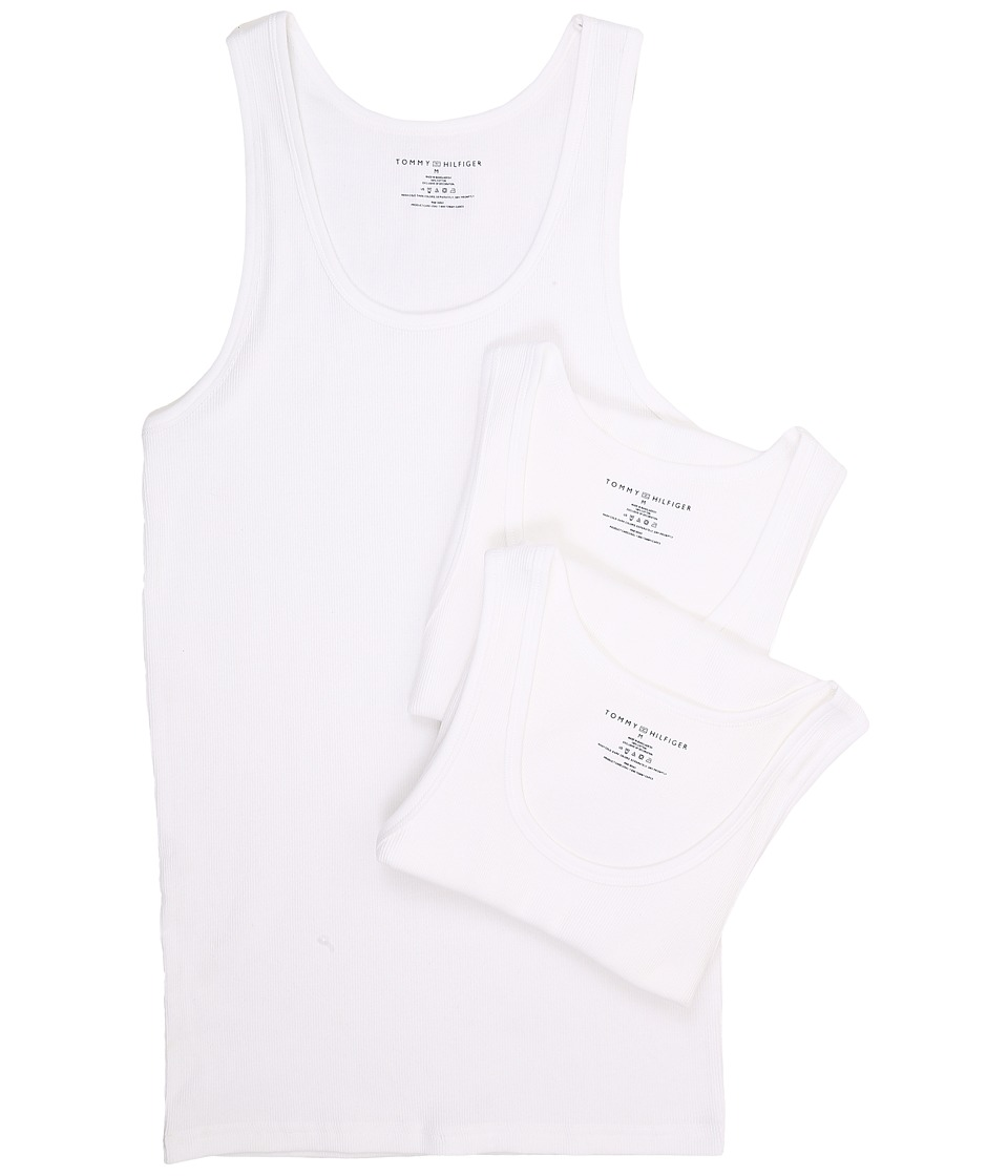 Tommy Hilfiger Tommy Hilfiger - Cotton A-Shirt 3-Pack