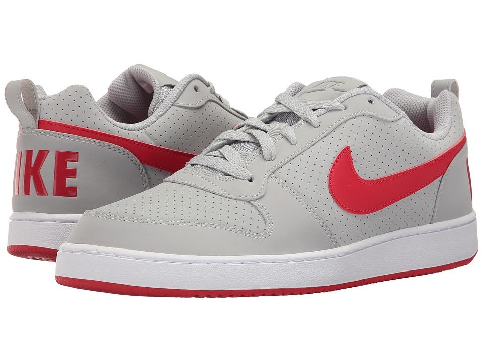 Nike Court Borough (Wolf Grey/White/University Red) Men's...