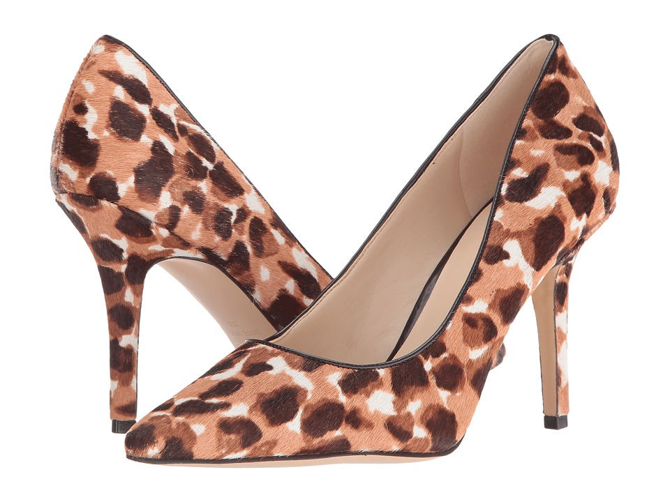 Nine West - Jackpot 5 (Natural Multi/Dark Brown Pony) High Heels