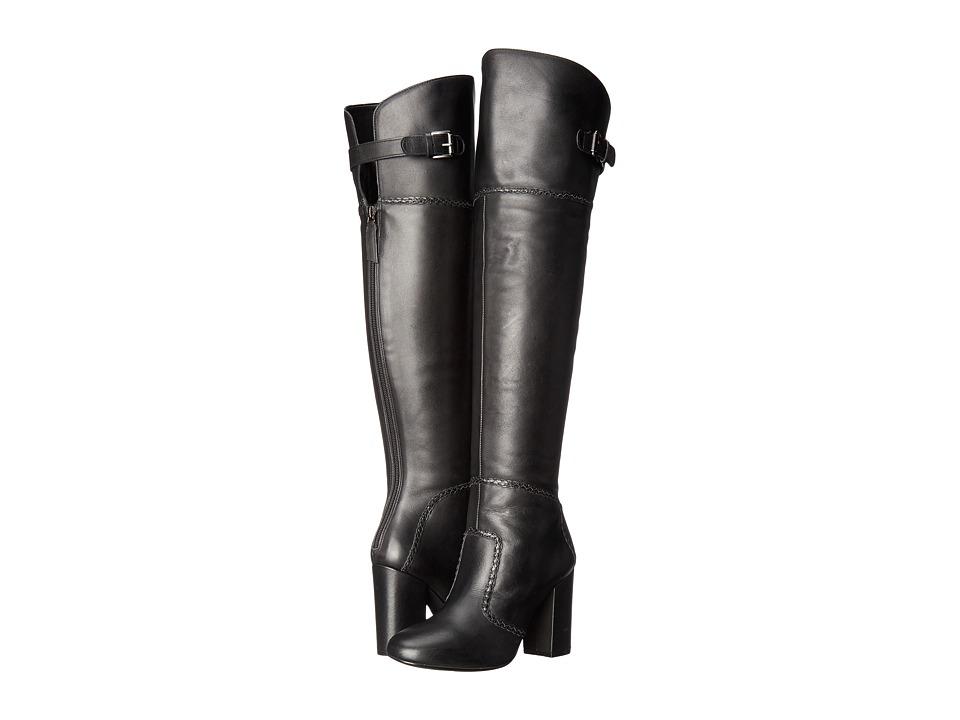 Nine West Jena (Black Leather) Women