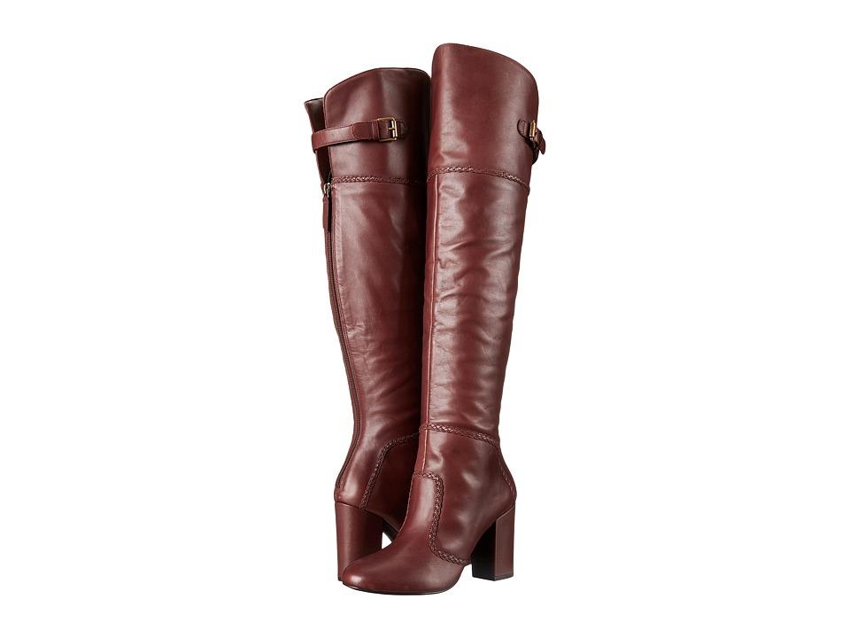 Nine West Jena (Cognac Leather) Women
