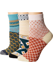 Free People - Paradise Cove 3-Pack Ankle Socks