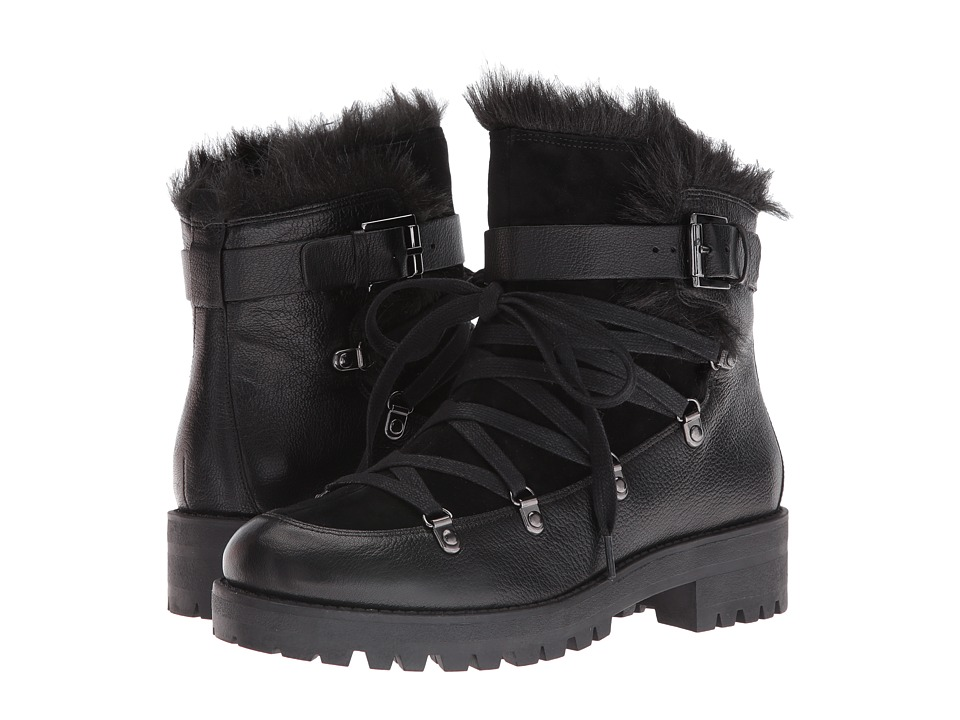 Nine West Orynne (Black/Black Leather) Women