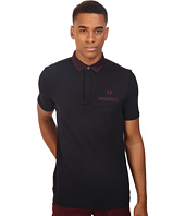 Fred Perry - Oxford Trim Collar Pique Shirt