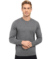 Lacoste - Segment 1 Cotton Jersey Crew Neck Sweater