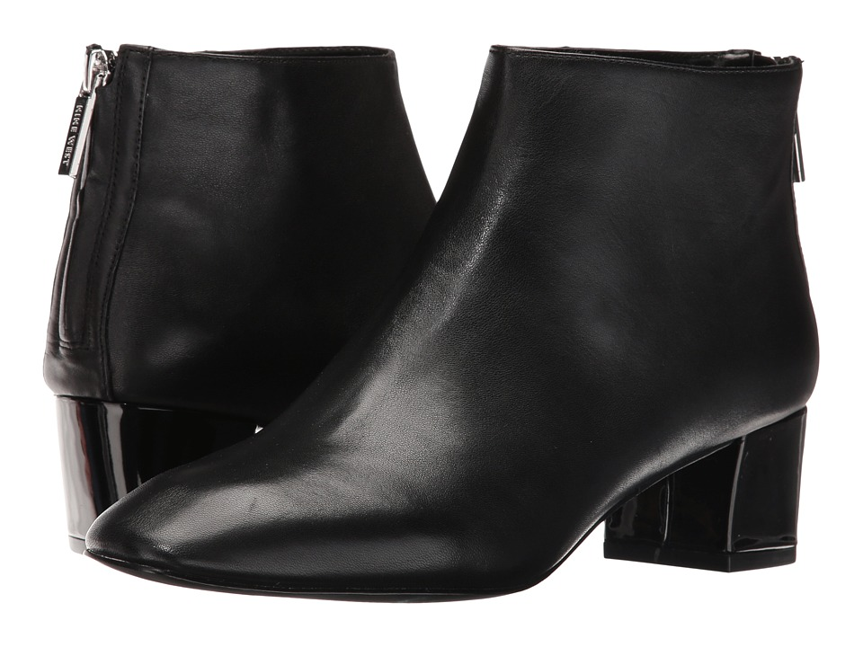 Nine West - Anna (Black Leather) Women