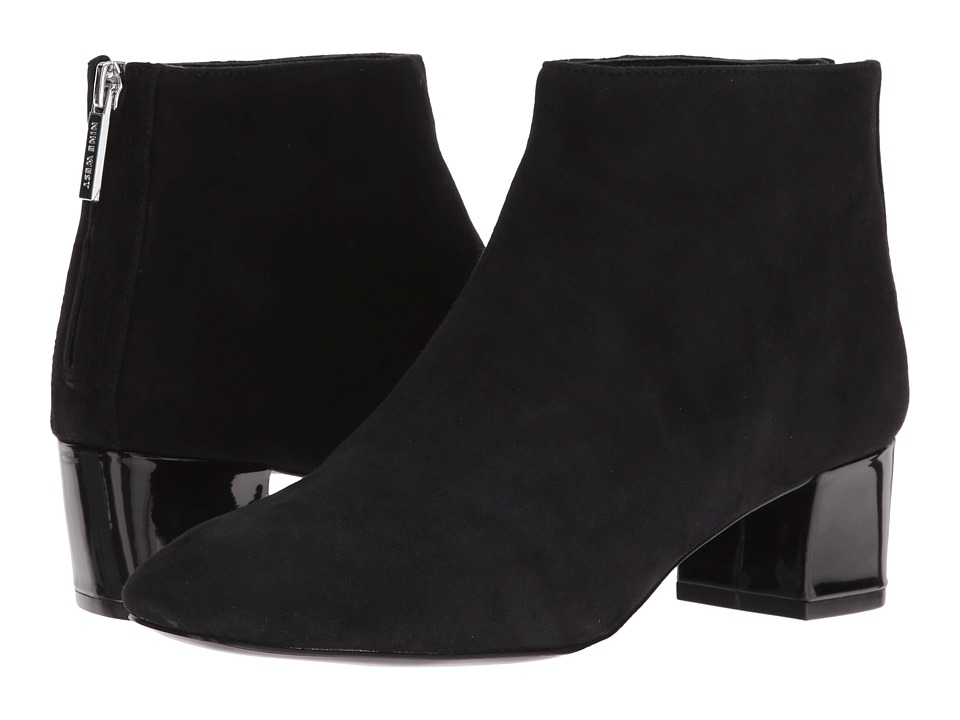 Nine West Anna (Black Suede) Women