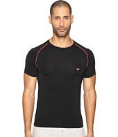 Emporio Armani - Fluo Piping Microfiber T-Shirt