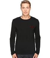 Emporio Armani - Xmas-Mirror Effect Eagle Regular Fit Sweater