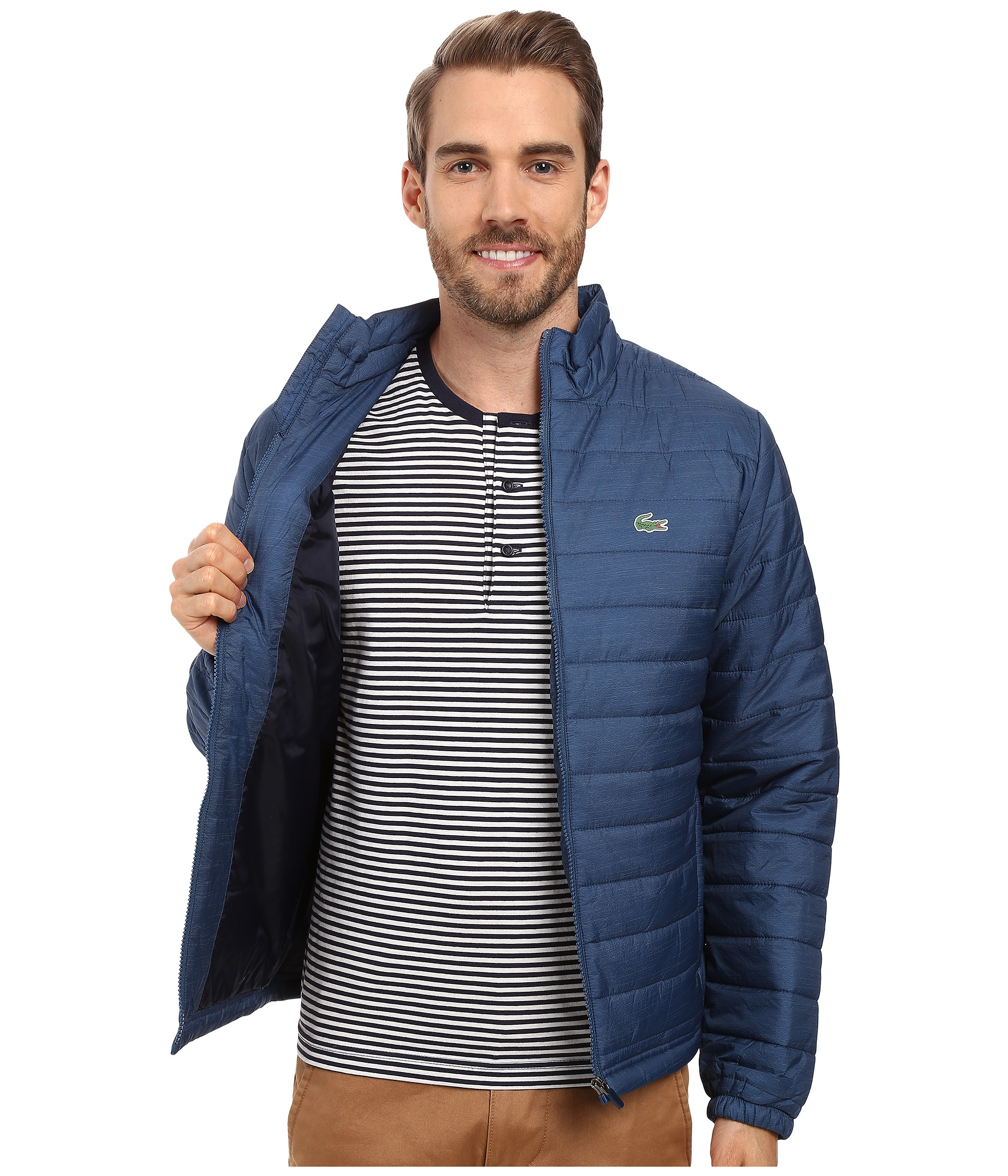 lacoste sport ripstop jacket free shipping. Black Bedroom Furniture Sets. Home Design Ideas
