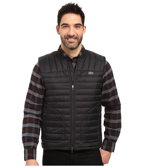 Lacoste Packable Vest - Black