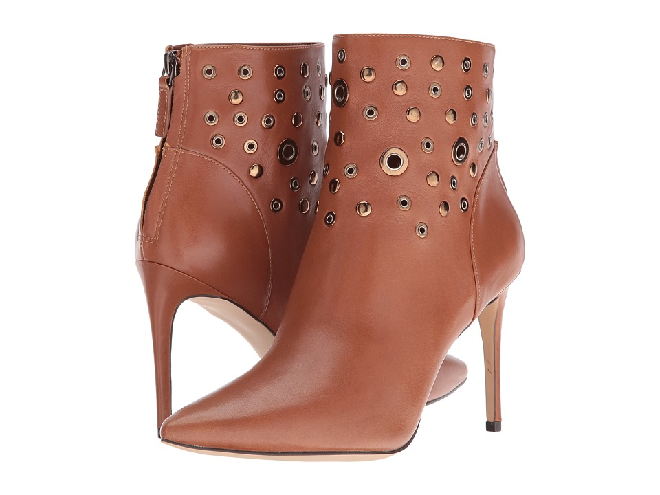Nine West Topple (Cognac Leather) Women