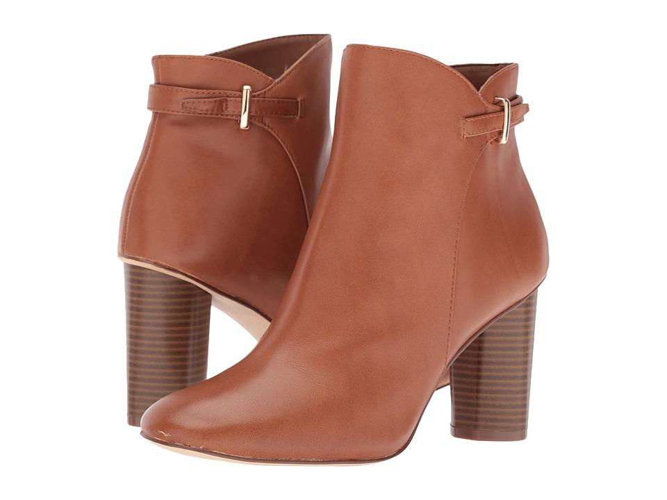 Nine West Vaberta (Cognac Leather) Women