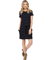 Culture Phit - Eve Short Sleeve Sweater Dress with Drawstring