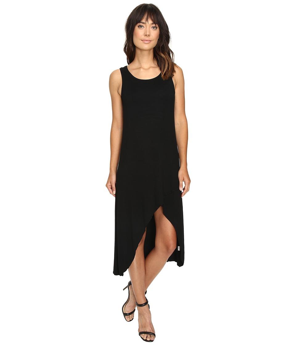 Culture Phit Flynne Sleeveless Cross-Bottom Dress (Black) Women