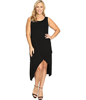 Culture Phit - Plus Size Flynne Sleeveless Cross-Bottom Dress