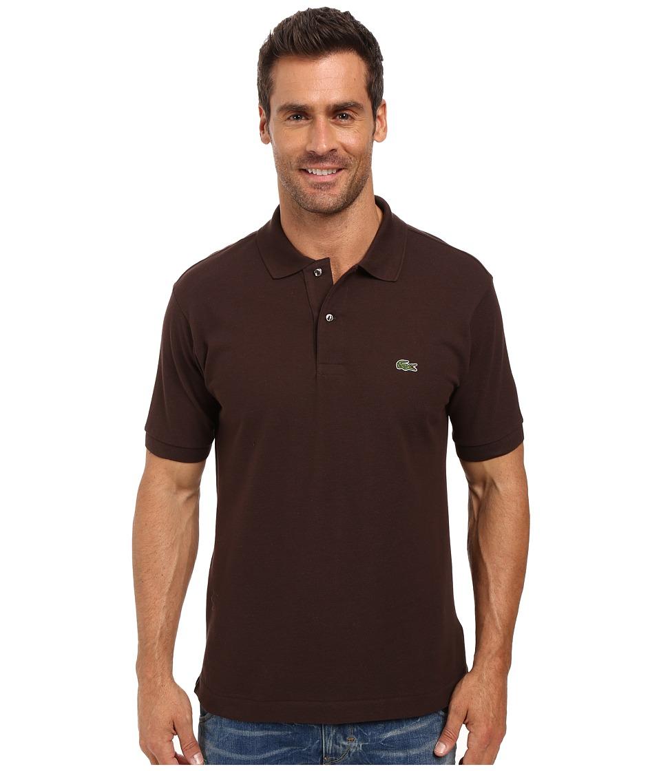 Lacoste - L1212 Classic Pique Polo Shirt (Brownie) Men