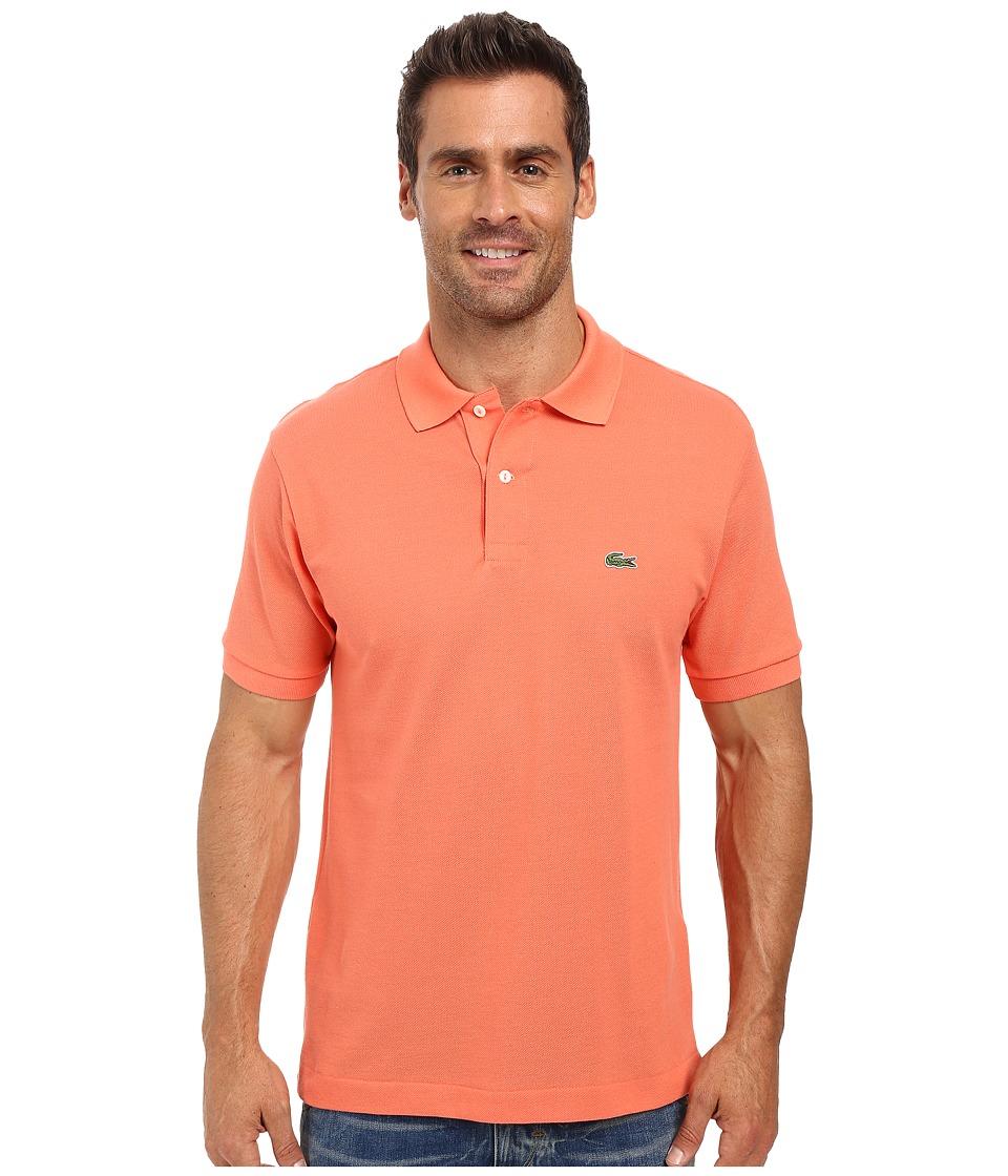 Lacoste - L1212 Classic Pique Polo Shirt (Squash Orange) Men