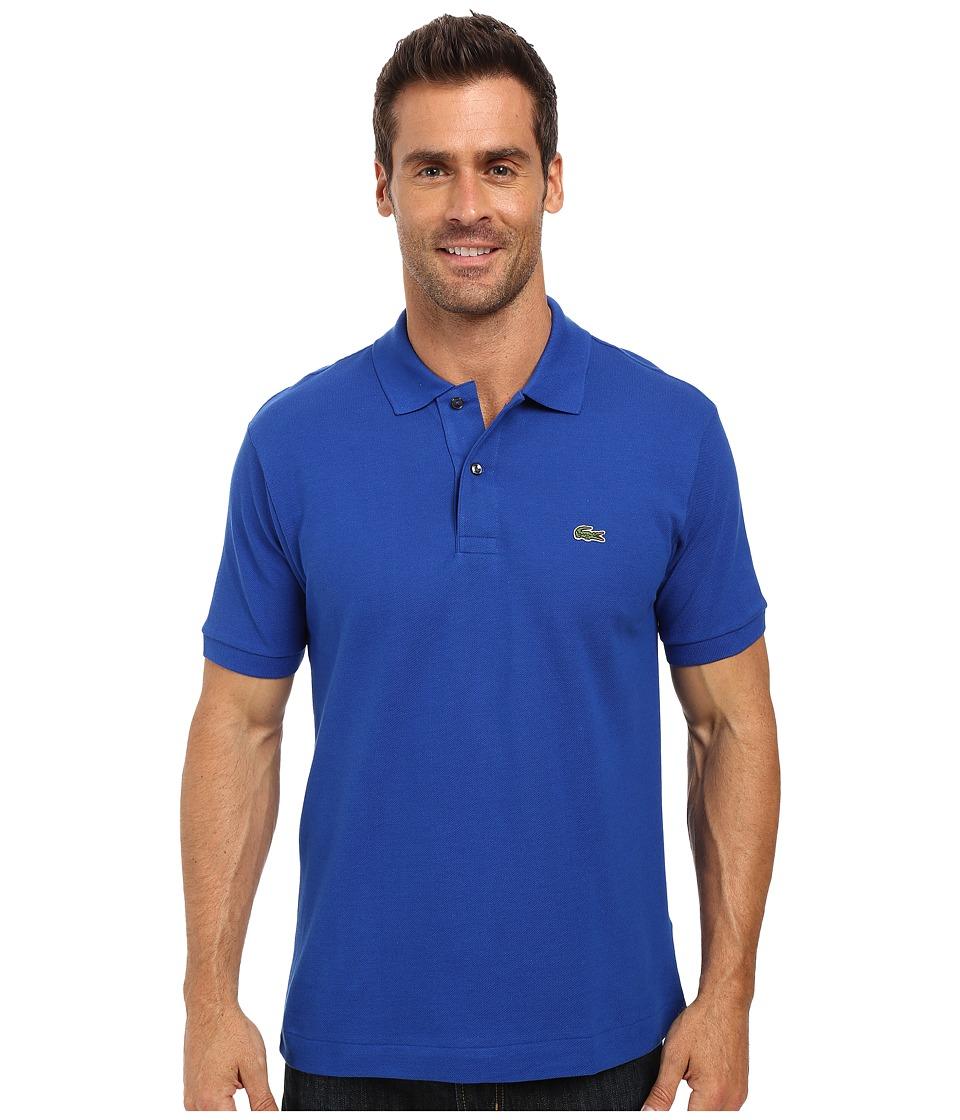 Lacoste - L1212 Classic Pique Polo Shirt (Steamship Blue) Men