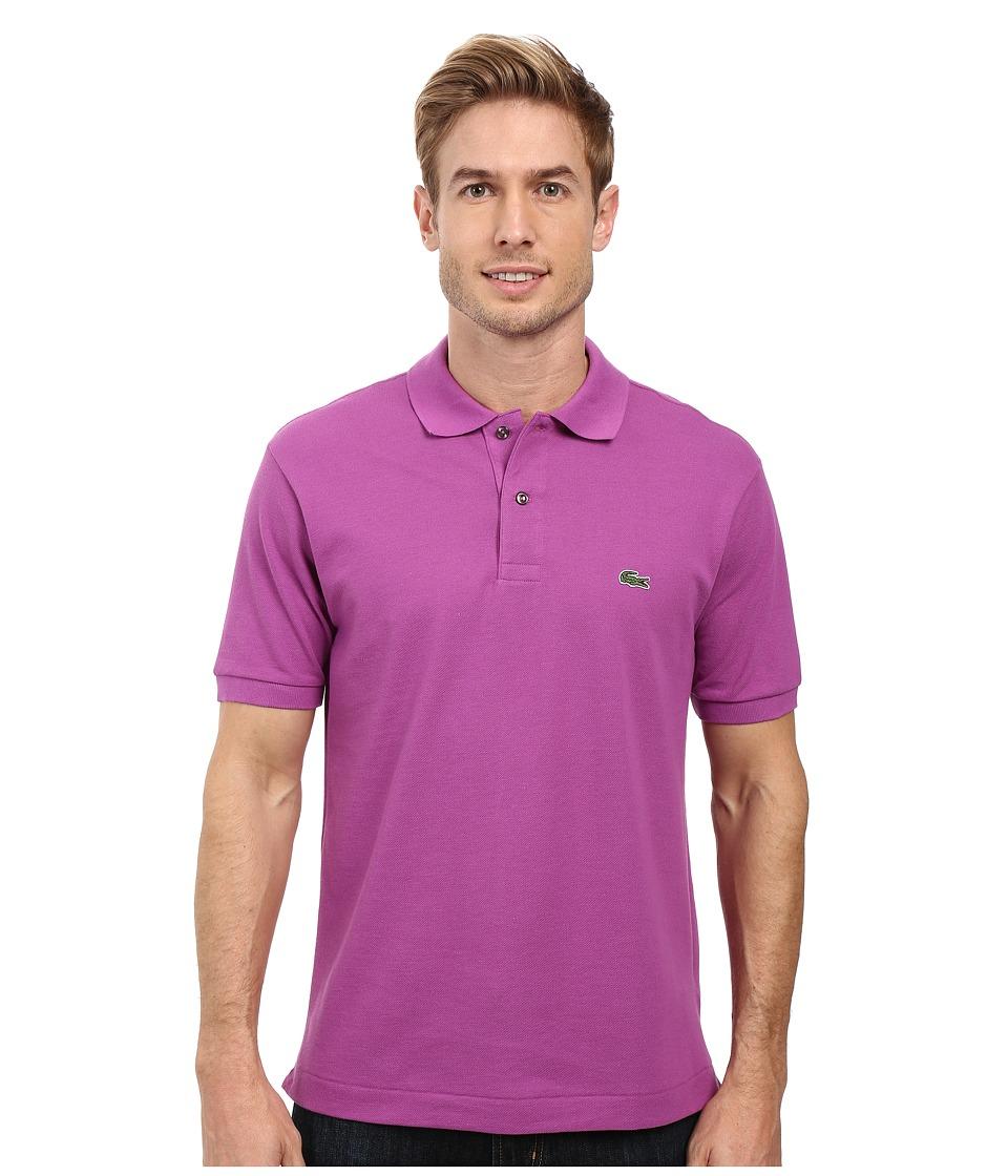 Lacoste - L1212 Classic Pique Polo Shirt (Irresistible) Men