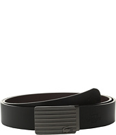 Lacoste - Premium Leather Interchangeable Buckle Belt Set