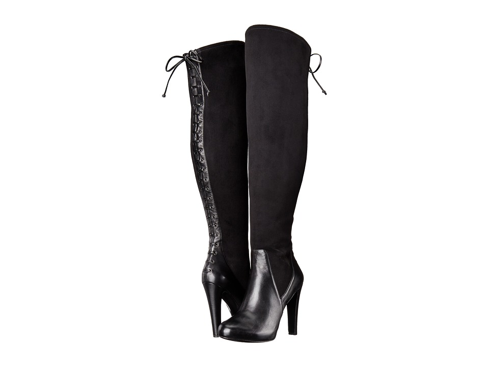 Nine West Brenna 2 (Black/Black Fabric) Women