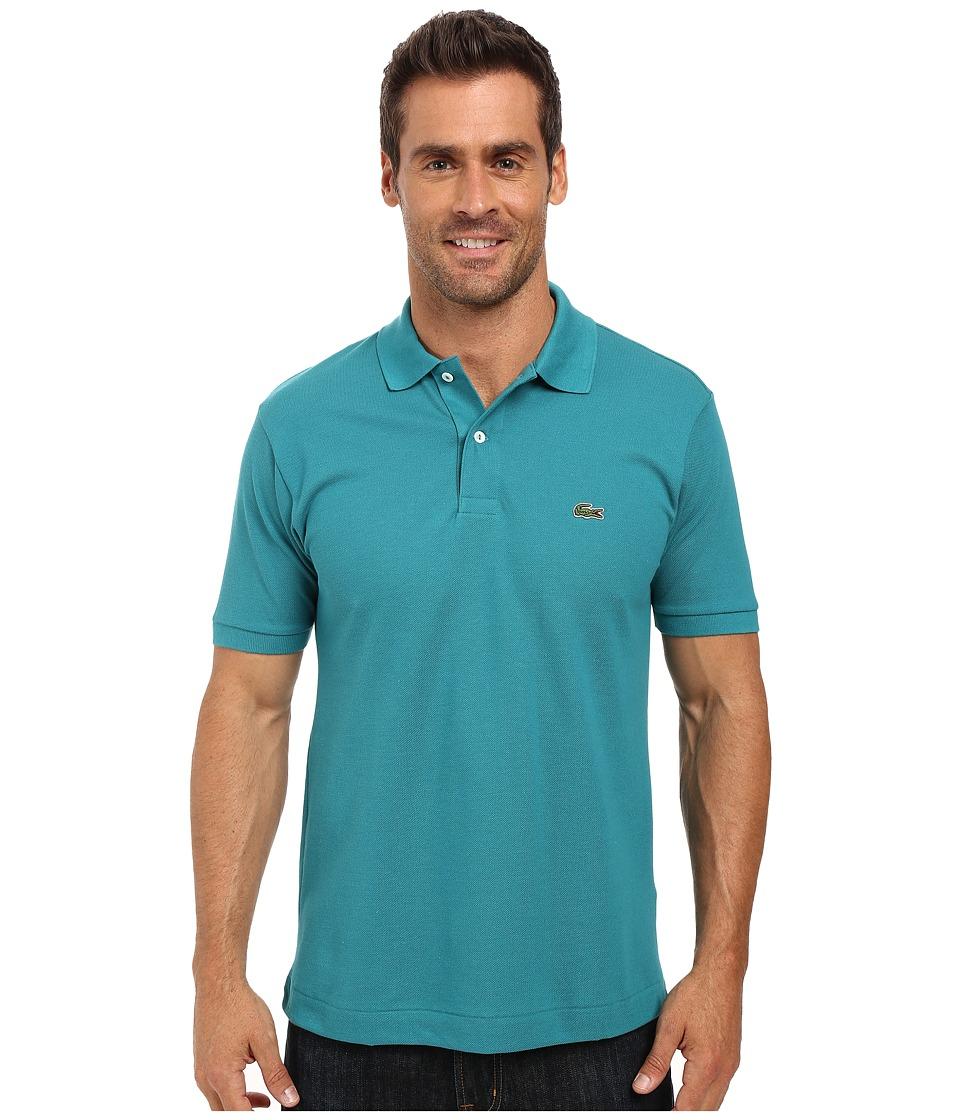 Lacoste - L1212 Classic Pique Polo Shirt (Emerald) Men