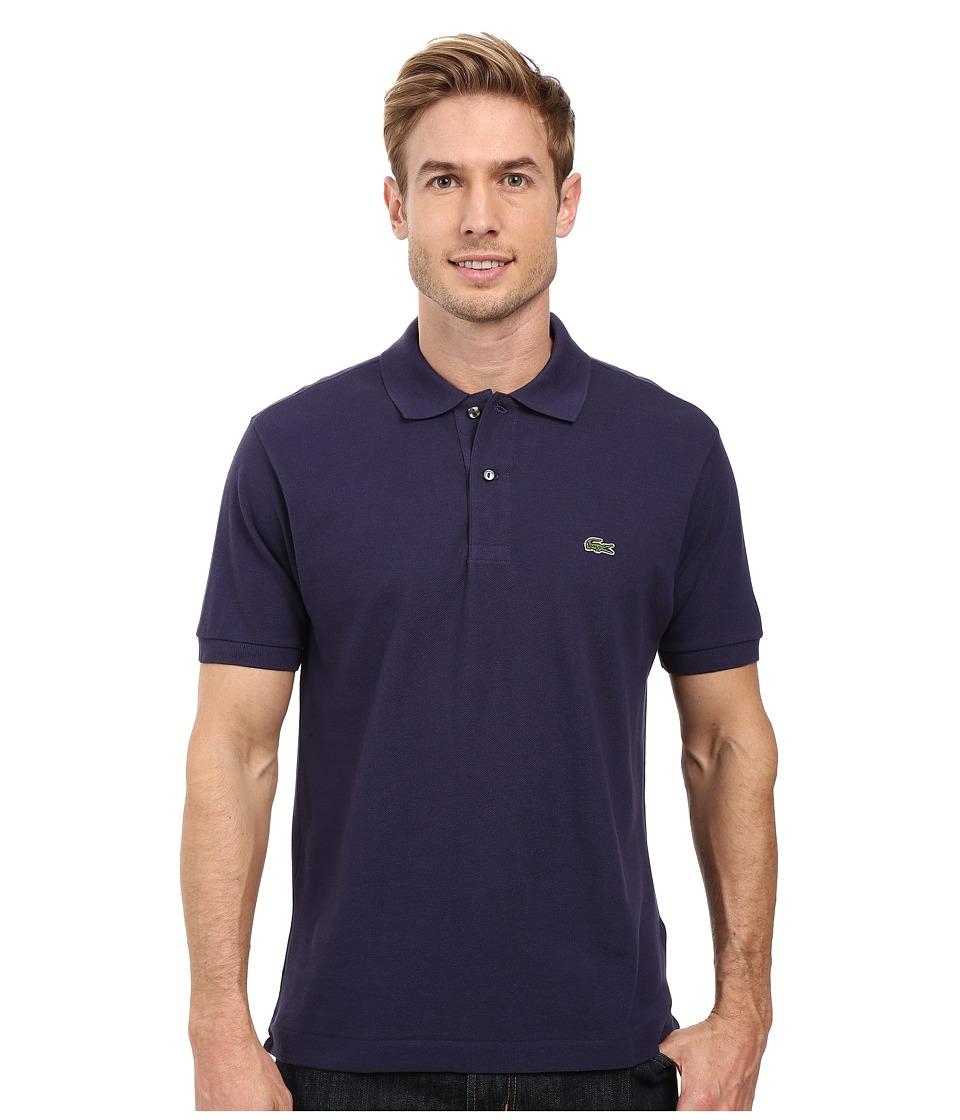 Lacoste - L1212 Classic Pique Polo Shirt (Dark Blue) Men