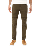 Rustic Dime - Dime Denim in Olive