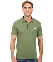Lacoste - Short Sleeve Clean Seams Pique w/ Rubber Croc