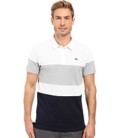 Lacoste - Golf Short Sleeve Color Block Pique Ultra Dry