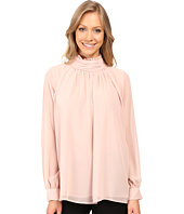 Vince Camuto - Long Sleeve Ruffle Neck Blouse