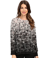 Vince Camuto - Long Sleeve Shadow Textures Blouse