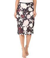 Vince Camuto - Chapel Rose Printed Lace Pencil Skirt