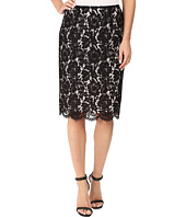 Vince Camuto - Scallop Lace Pencil Skirt