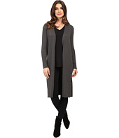 Vince Camuto - Long Sleeve Ribbed Maxi Cardigan