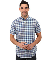 Nautica - Short Sleeve Medium Plaid Shirt w/ Pocket