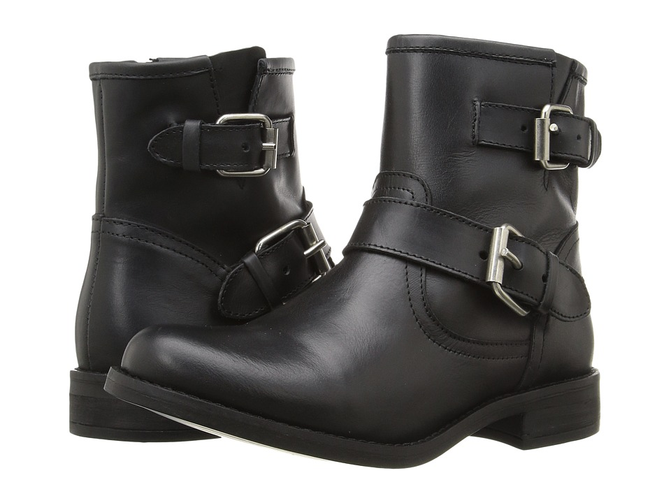 Steve Madden - Cain (Black Leather) Women
