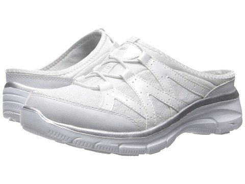 SKECHERS Easy Going - Repute - White/Silver