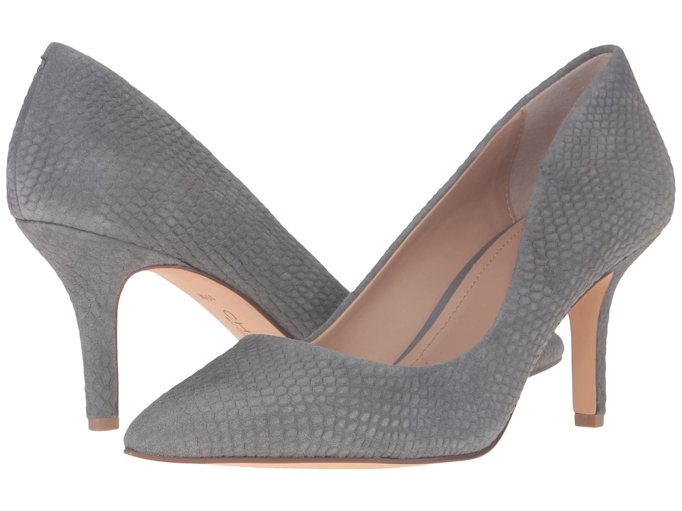 Charles by Charles David - Sasha (Stone Grey Snake Embossed) High Heels