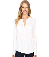 Lilla P - Pima Modal Slub Long Sleeve Pocket Top